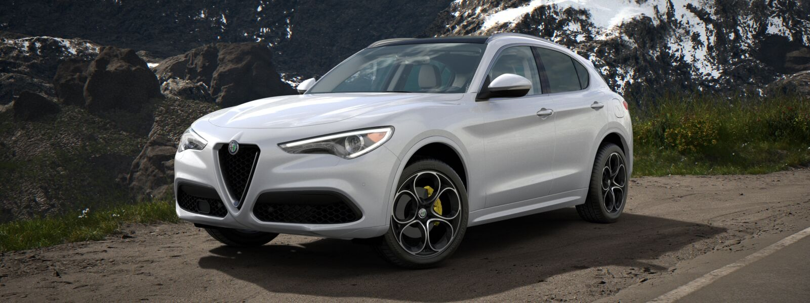 New 2020 Alfa Romeo Stelvio Ti Lusso Q4 for sale $55,045 at Alfa Romeo of Westport in Westport CT 06880 1