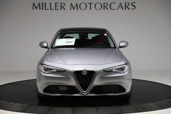 New 2020 Alfa Romeo Giulia Ti Q4 for sale Sold at Alfa Romeo of Westport in Westport CT 06880 12
