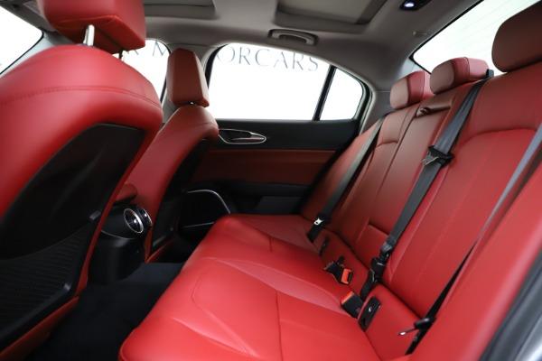 New 2020 Alfa Romeo Giulia Ti Q4 for sale Sold at Alfa Romeo of Westport in Westport CT 06880 20