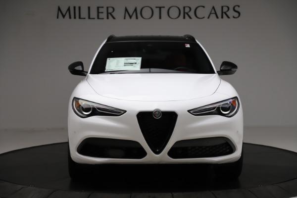 New 2020 Alfa Romeo Stelvio Ti Sport Q4 for sale $54,345 at Alfa Romeo of Westport in Westport CT 06880 12