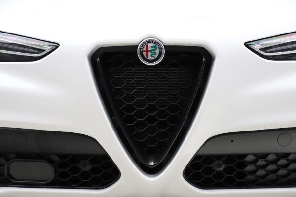 New 2020 Alfa Romeo Stelvio Ti Sport Q4 for sale $54,345 at Alfa Romeo of Westport in Westport CT 06880 13