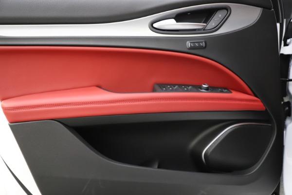 New 2020 Alfa Romeo Stelvio Ti Sport Q4 for sale $54,345 at Alfa Romeo of Westport in Westport CT 06880 20