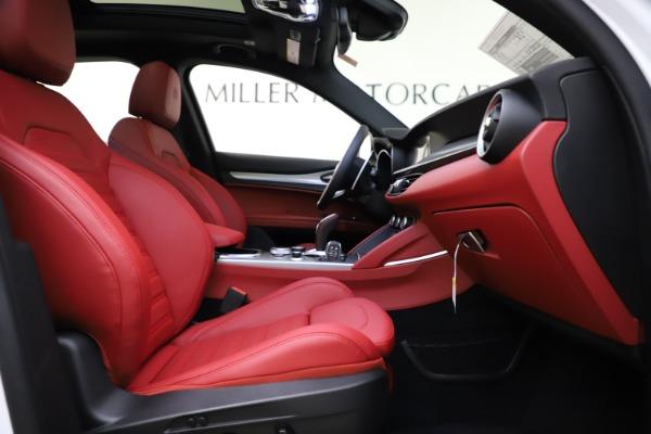 New 2020 Alfa Romeo Stelvio Ti Sport Q4 for sale $54,345 at Alfa Romeo of Westport in Westport CT 06880 25