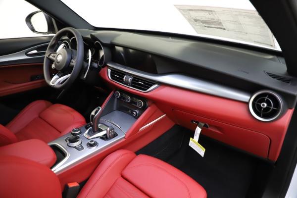 New 2020 Alfa Romeo Stelvio Ti Sport Q4 for sale $54,345 at Alfa Romeo of Westport in Westport CT 06880 26