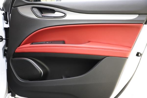 New 2020 Alfa Romeo Stelvio Ti Sport Q4 for sale $54,345 at Alfa Romeo of Westport in Westport CT 06880 27