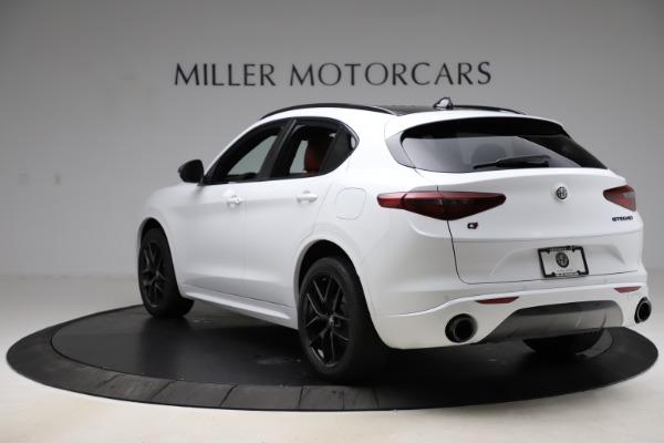 New 2020 Alfa Romeo Stelvio Ti Sport Q4 for sale $54,345 at Alfa Romeo of Westport in Westport CT 06880 5