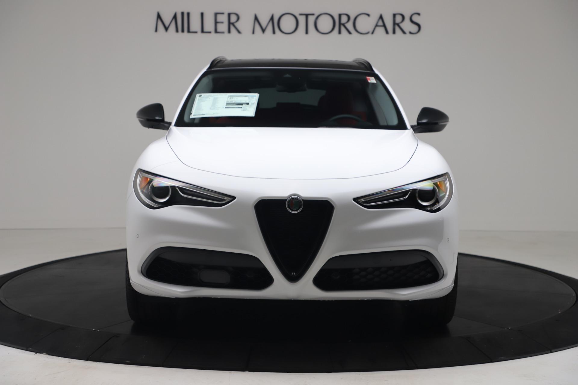 New 2020 Alfa Romeo Stelvio Ti Sport Q4 for sale $54,345 at Alfa Romeo of Westport in Westport CT 06880 1