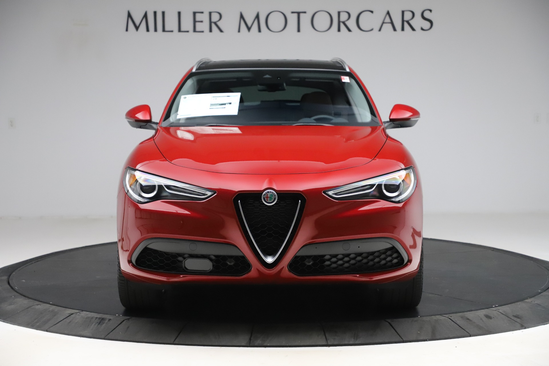 New 2020 Alfa Romeo Stelvio Ti Lusso Q4 for sale $56,495 at Alfa Romeo of Westport in Westport CT 06880 1