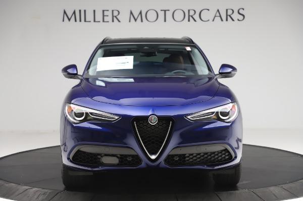 New 2020 Alfa Romeo Stelvio Sport Q4 for sale $50,895 at Alfa Romeo of Westport in Westport CT 06880 12