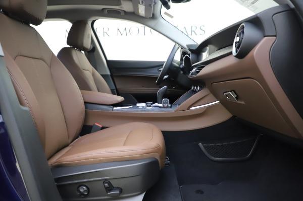 New 2020 Alfa Romeo Stelvio Sport Q4 for sale $50,895 at Alfa Romeo of Westport in Westport CT 06880 23