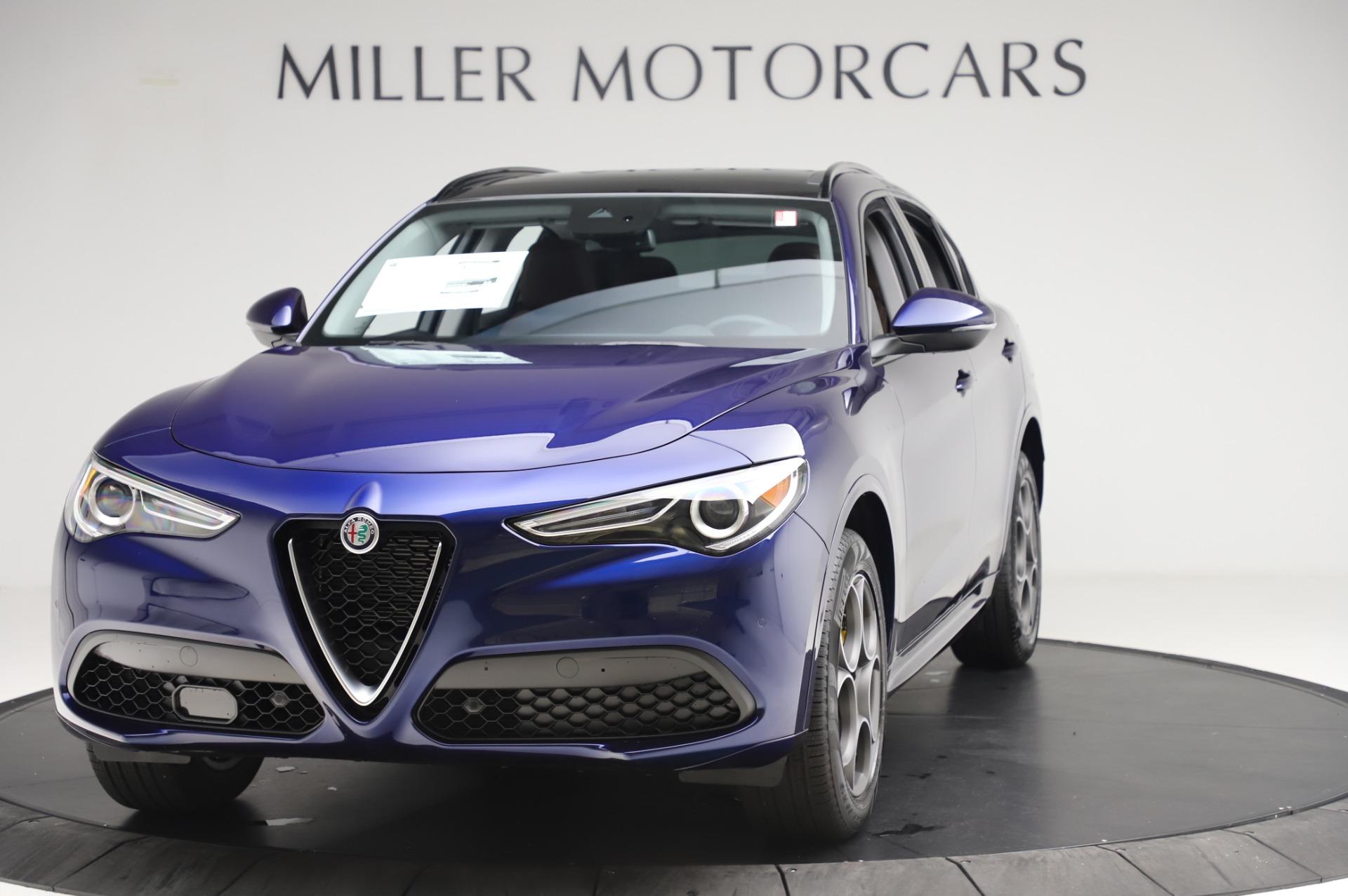 New 2020 Alfa Romeo Stelvio Sport Q4 for sale $50,895 at Alfa Romeo of Westport in Westport CT 06880 1
