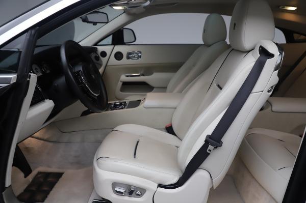 Used 2014 Rolls-Royce Wraith Base for sale $168,900 at Alfa Romeo of Westport in Westport CT 06880 18