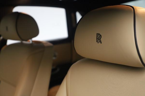 Used 2016 Rolls-Royce Ghost for sale $175,900 at Alfa Romeo of Westport in Westport CT 06880 21