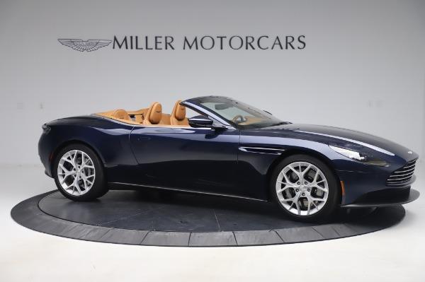 Used 2019 Aston Martin DB11 Volante Convertible for sale $219,900 at Alfa Romeo of Westport in Westport CT 06880 9