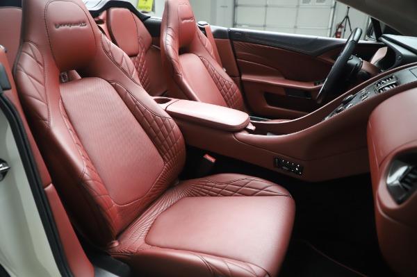 Used 2018 Aston Martin Vanquish S Volante for sale $183,900 at Alfa Romeo of Westport in Westport CT 06880 21