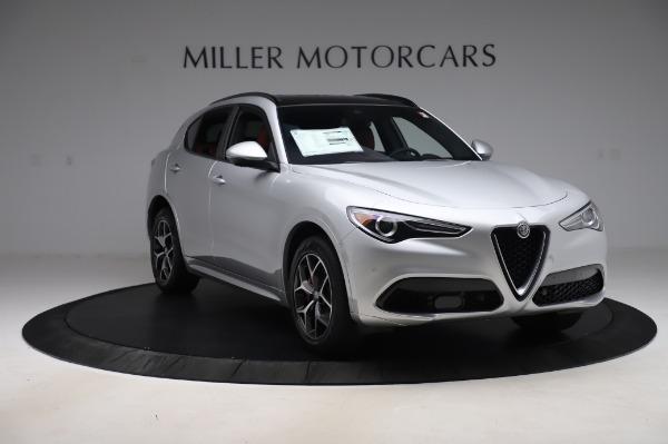 New 2020 Alfa Romeo Stelvio Ti Sport Q4 for sale $53,545 at Alfa Romeo of Westport in Westport CT 06880 11
