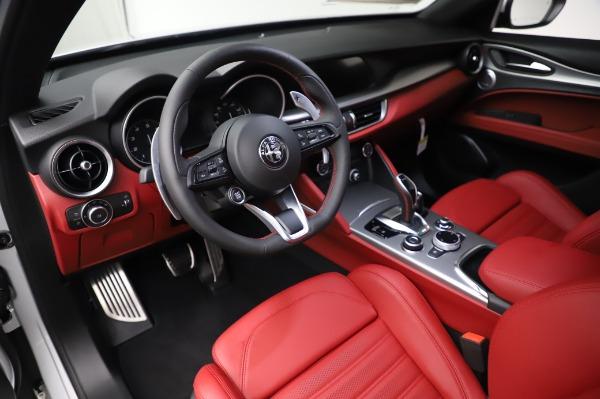 New 2020 Alfa Romeo Stelvio Ti Sport Q4 for sale $53,545 at Alfa Romeo of Westport in Westport CT 06880 13