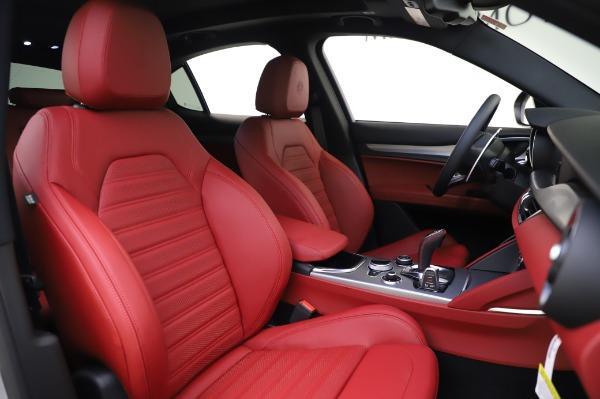 New 2020 Alfa Romeo Stelvio Ti Sport Q4 for sale $53,545 at Alfa Romeo of Westport in Westport CT 06880 21