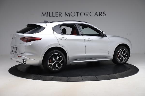 New 2020 Alfa Romeo Stelvio Ti Sport Q4 for sale $53,545 at Alfa Romeo of Westport in Westport CT 06880 8