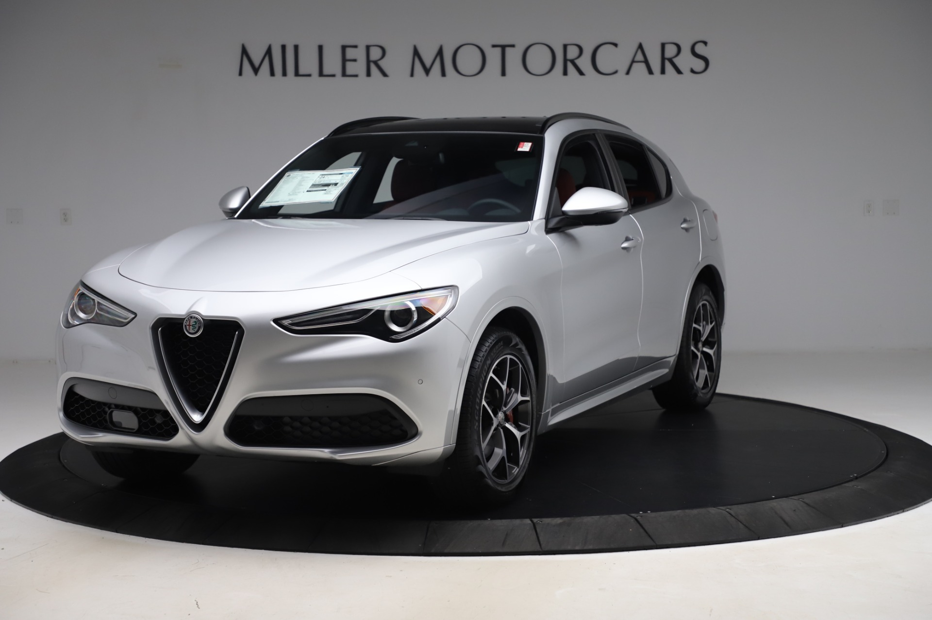 New 2020 Alfa Romeo Stelvio Ti Sport Q4 for sale $53,545 at Alfa Romeo of Westport in Westport CT 06880 1
