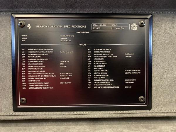 Used 2020 Ferrari 812 Superfast for sale $399,900 at Alfa Romeo of Westport in Westport CT 06880 20