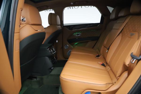 New 2021 Bentley Bentayga V8 First Edition for sale Sold at Alfa Romeo of Westport in Westport CT 06880 24