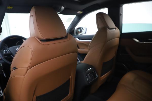 New 2020 Maserati Levante Q4 GranSport for sale Sold at Alfa Romeo of Westport in Westport CT 06880 20
