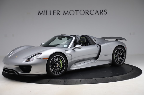 Used 2015 Porsche 918 Spyder for sale Sold at Alfa Romeo of Westport in Westport CT 06880 2