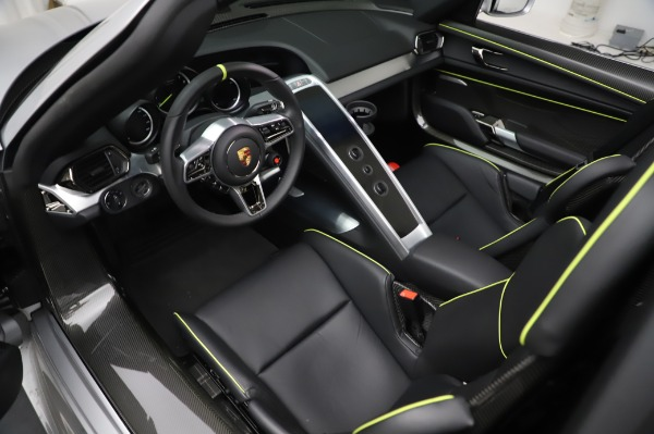 Used 2015 Porsche 918 Spyder for sale Sold at Alfa Romeo of Westport in Westport CT 06880 22