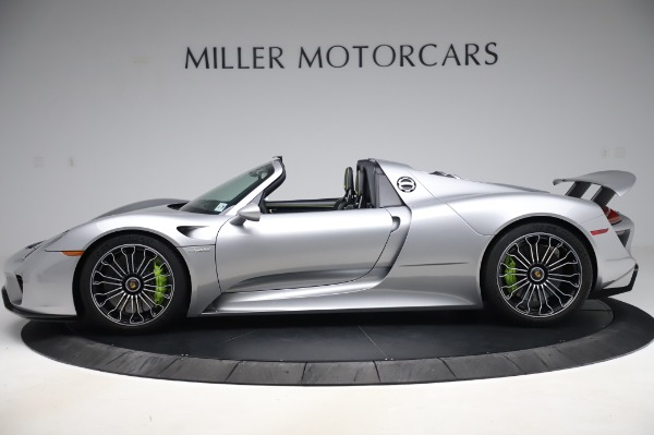 Used 2015 Porsche 918 Spyder for sale Sold at Alfa Romeo of Westport in Westport CT 06880 3