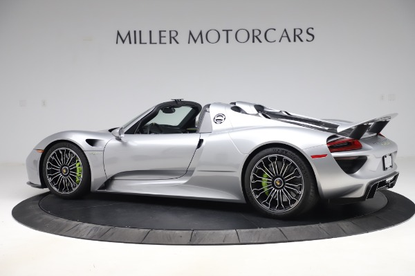 Used 2015 Porsche 918 Spyder for sale Sold at Alfa Romeo of Westport in Westport CT 06880 4