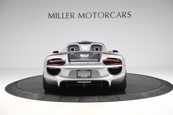 Used 2015 Porsche 918 Spyder for sale Sold at Alfa Romeo of Westport in Westport CT 06880 6