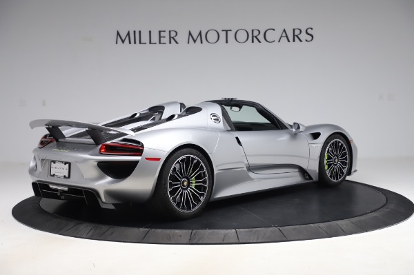 Used 2015 Porsche 918 Spyder for sale Sold at Alfa Romeo of Westport in Westport CT 06880 8