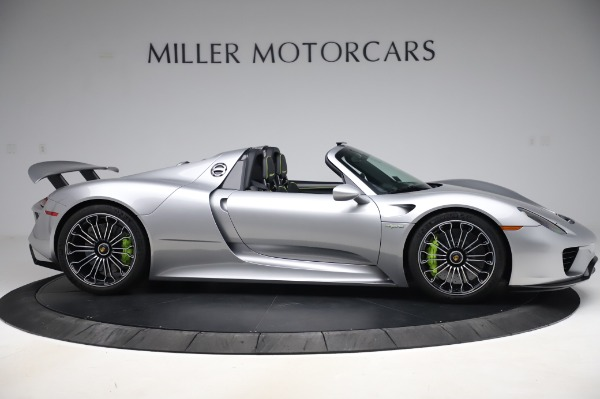 Used 2015 Porsche 918 Spyder for sale Sold at Alfa Romeo of Westport in Westport CT 06880 9