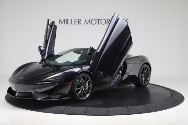 Used 2019 McLaren 570S Spider for sale Call for price at Alfa Romeo of Westport in Westport CT 06880 18