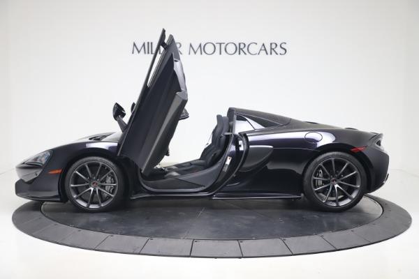Used 2019 McLaren 570S Spider for sale Call for price at Alfa Romeo of Westport in Westport CT 06880 19