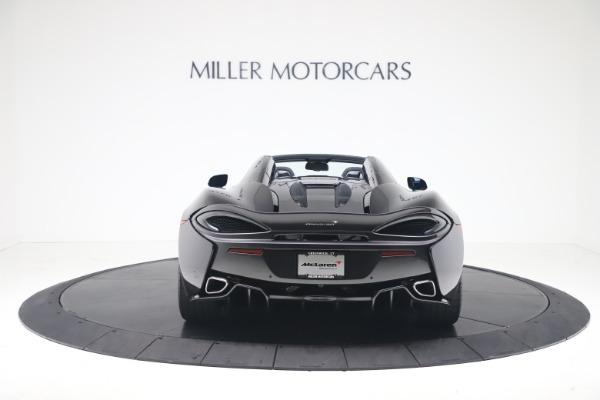 Used 2019 McLaren 570S Spider for sale Call for price at Alfa Romeo of Westport in Westport CT 06880 4