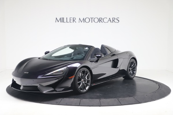 Used 2019 McLaren 570S Spider for sale Call for price at Alfa Romeo of Westport in Westport CT 06880 1