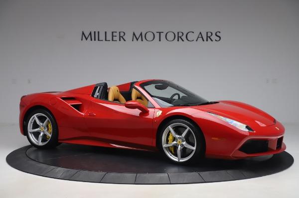 Used 2018 Ferrari 488 Spider Base for sale $289,900 at Alfa Romeo of Westport in Westport CT 06880 10