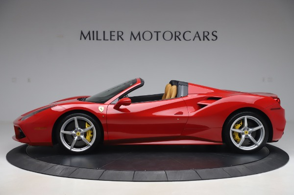 Used 2018 Ferrari 488 Spider Base for sale $289,900 at Alfa Romeo of Westport in Westport CT 06880 3