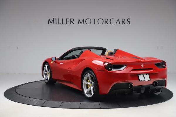 Used 2018 Ferrari 488 Spider Base for sale $289,900 at Alfa Romeo of Westport in Westport CT 06880 5