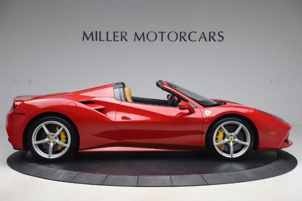 Used 2018 Ferrari 488 Spider Base for sale $289,900 at Alfa Romeo of Westport in Westport CT 06880 9