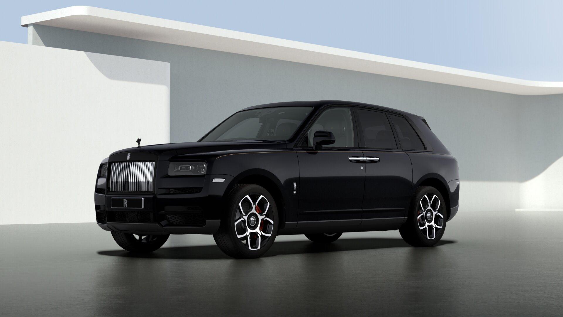 New 2021 Rolls-Royce Cullinan Black Badge for sale $439,700 at Alfa Romeo of Westport in Westport CT 06880 1