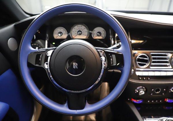 Used 2017 Rolls-Royce Wraith Black Badge for sale $269,900 at Alfa Romeo of Westport in Westport CT 06880 16