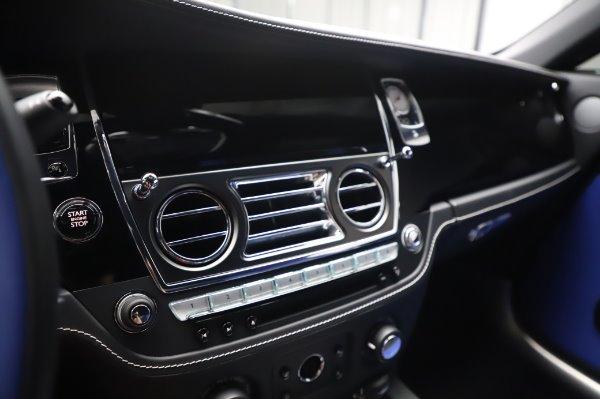 Used 2017 Rolls-Royce Wraith Black Badge for sale $269,900 at Alfa Romeo of Westport in Westport CT 06880 20