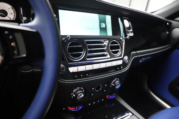 Used 2017 Rolls-Royce Wraith Black Badge for sale $269,900 at Alfa Romeo of Westport in Westport CT 06880 21