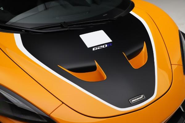 New 2020 McLaren 620R Coupe for sale Call for price at Alfa Romeo of Westport in Westport CT 06880 17