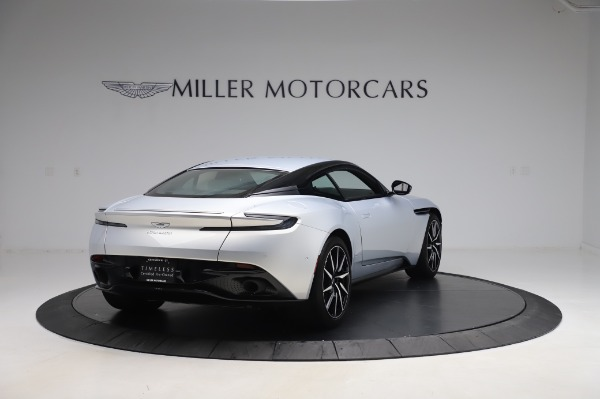 Used 2018 Aston Martin DB11 V8 Coupe for sale Sold at Alfa Romeo of Westport in Westport CT 06880 6