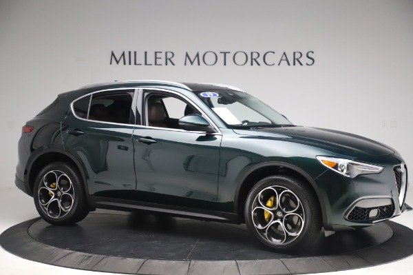 Used 2019 Alfa Romeo Stelvio Ti Lusso for sale Sold at Alfa Romeo of Westport in Westport CT 06880 10