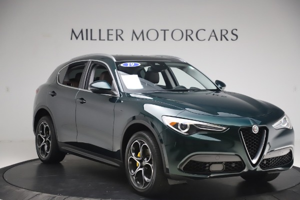 Used 2019 Alfa Romeo Stelvio Ti Lusso for sale Sold at Alfa Romeo of Westport in Westport CT 06880 11